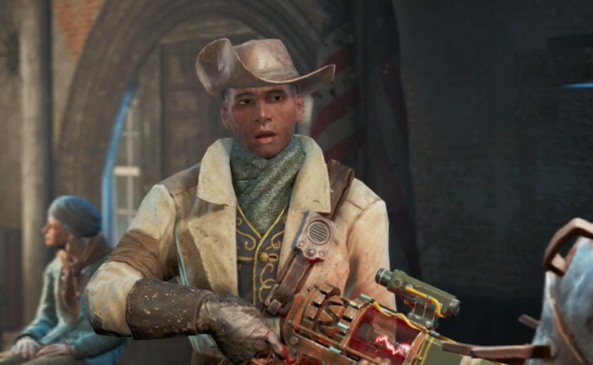 Fallout 4 Mod Makes Preston Garvey Chill The Fuck Out
