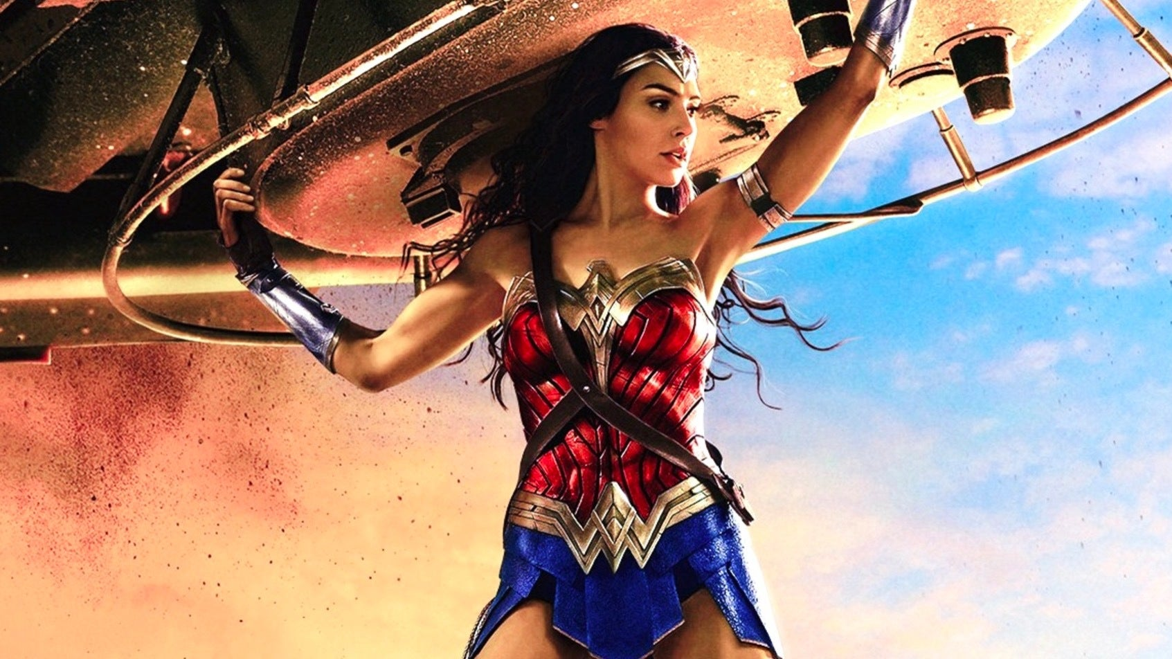 Intel Celebrates Wonder Woman With Shooting Star Drone Light Show