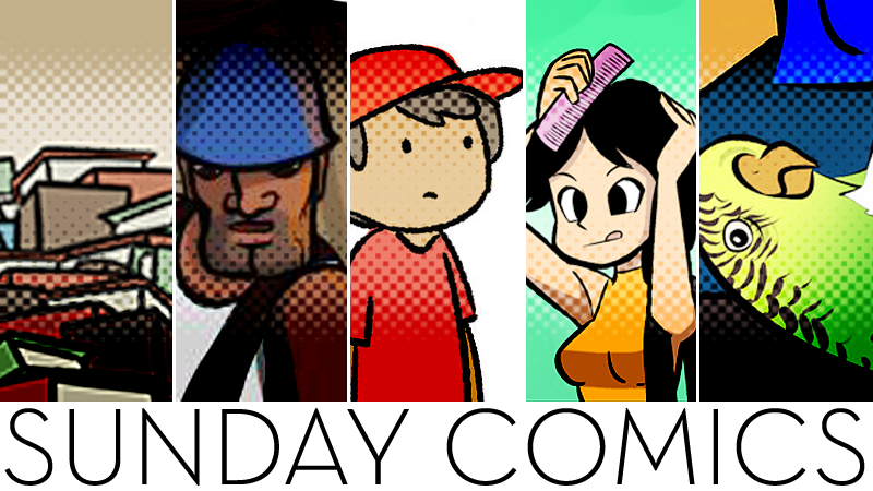 Sunday Comics: Finished A Book Today…