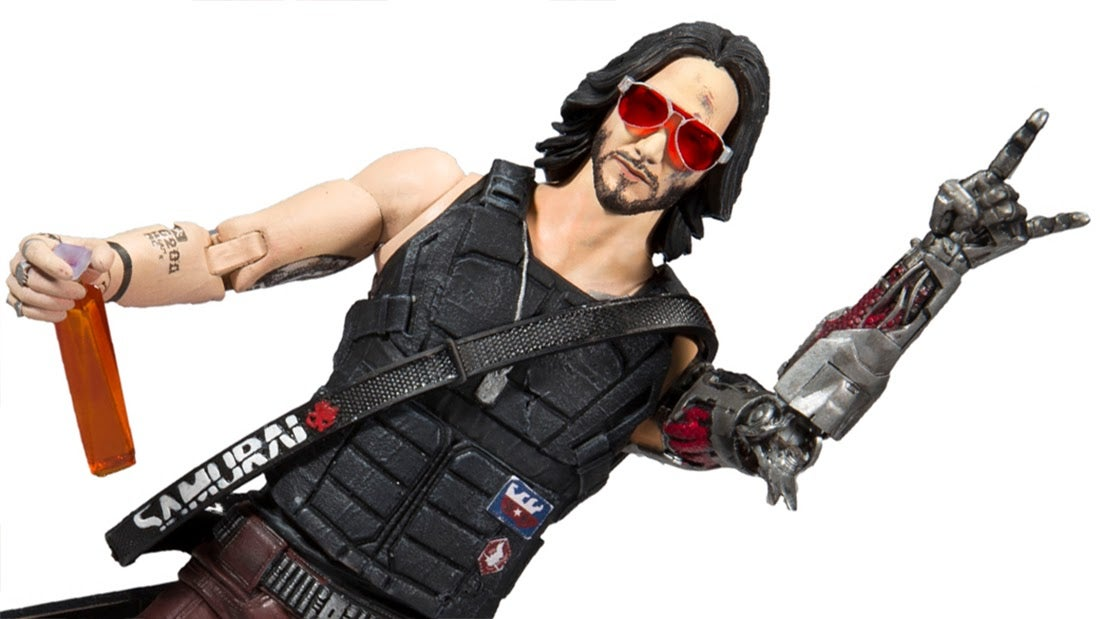 Cyberpunk 2077's Keanu Action Figure Is Mildly Breathtaking
