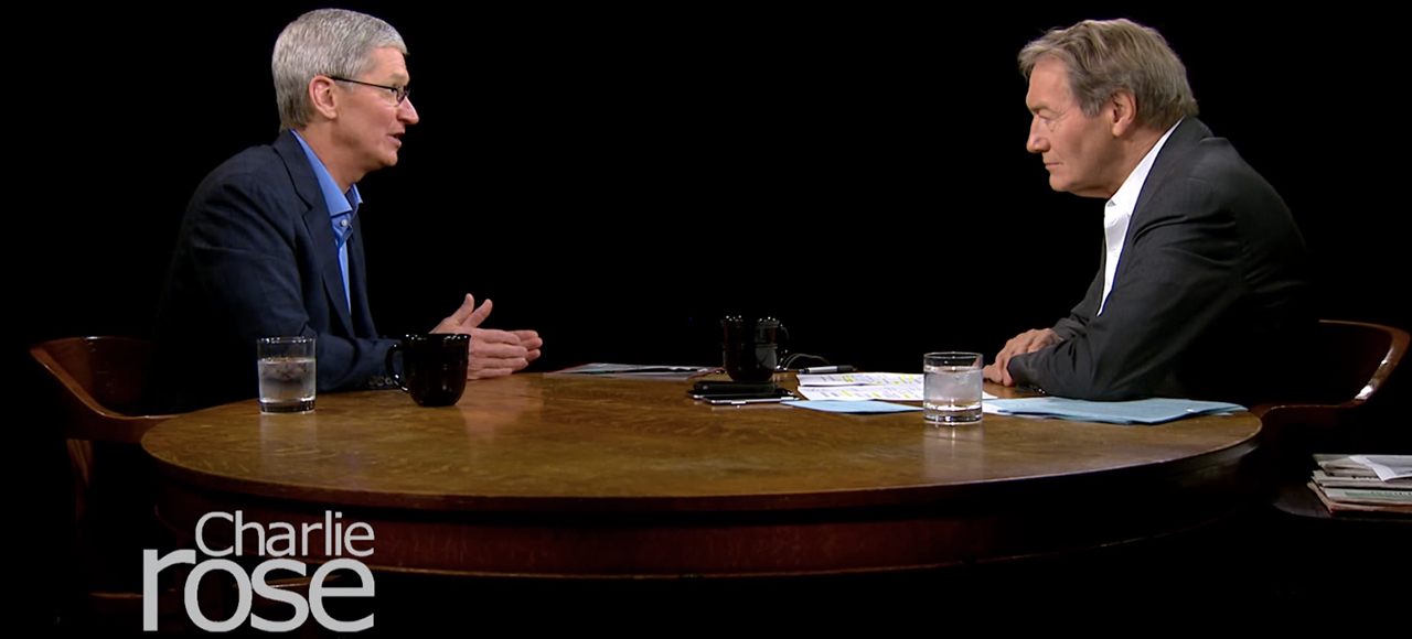 Tim Cook Talks iCloud Hack, iPhone 6, and More With Charlie Rose