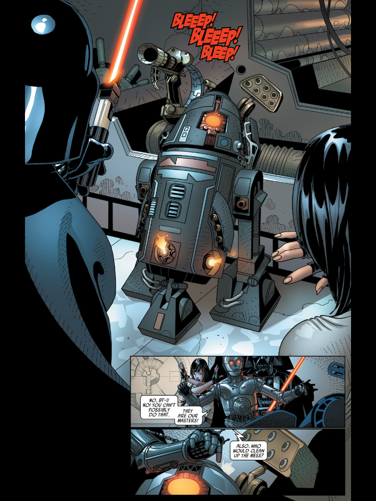 Darth Vader Now Has an Evil C-3PO and R2D2. I Like Them Already.