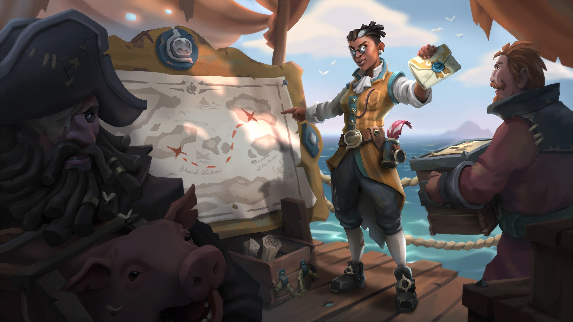 Fine Art The Art From Sea Of Thieves Kotaku Australia
