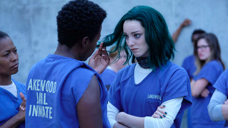 Polaris Finally Gets Her Comic Book Hair In A New Look At The Gifted