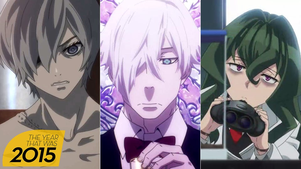 Anime Characters 2015 : The five best anime of kotaku australia