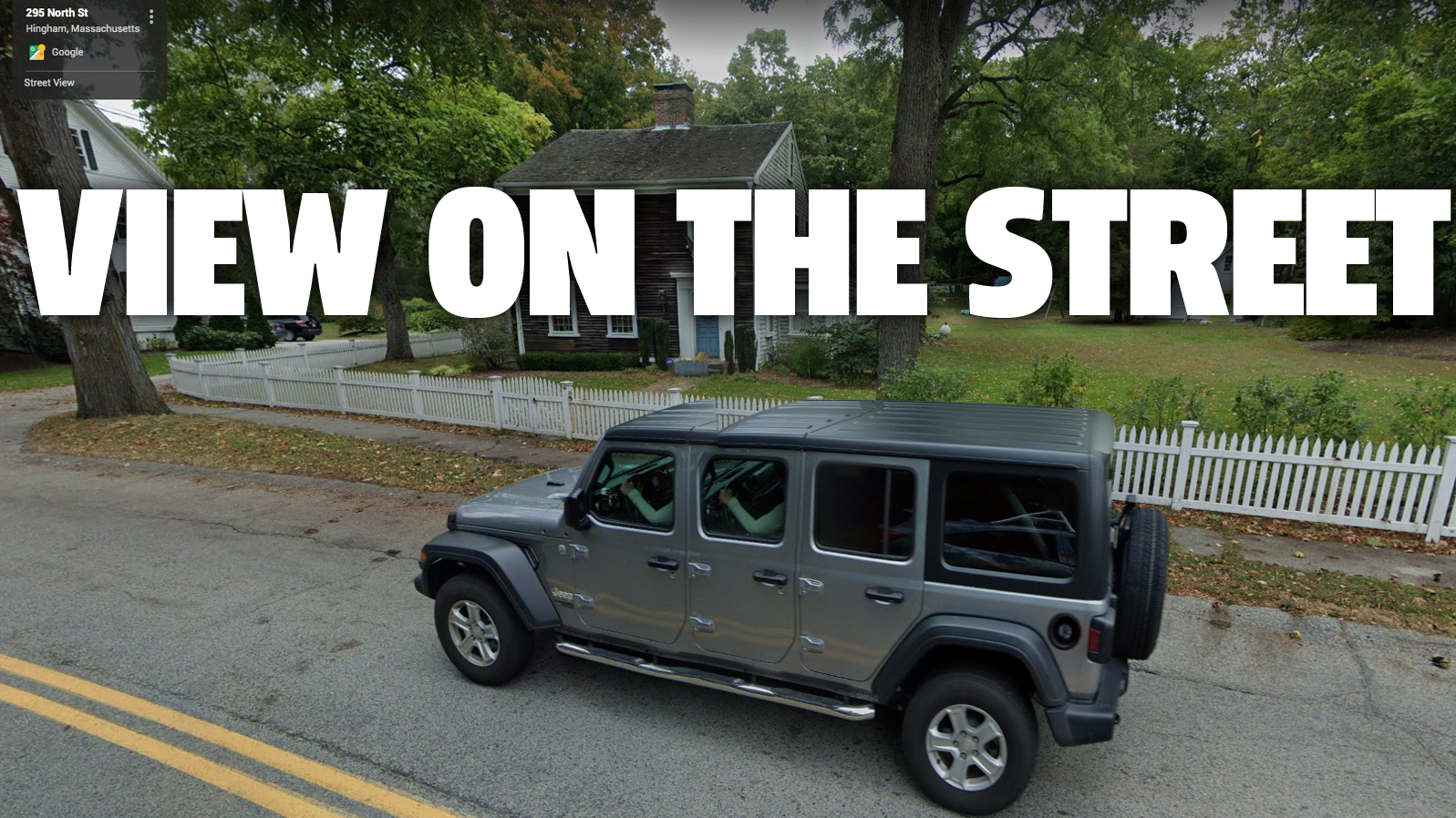 Google Street View AI Develops Six-Door Jeep Wrangler