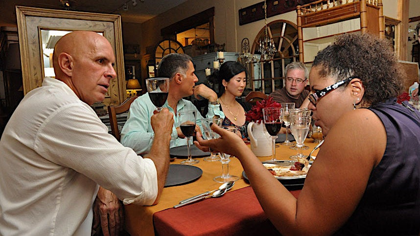 The Secret To A Captivating Dinner Party Conversation