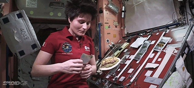 Cooking chicken and rice in space is always fun to see