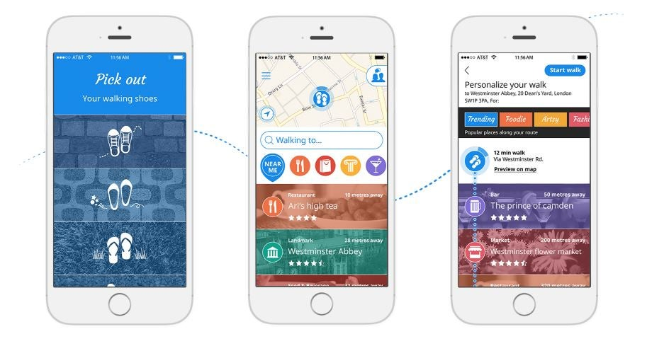 Sidekix: Urban Navigator Gives You Walking Routes Based On Your Interests