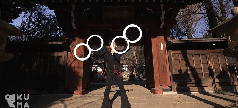 Chill Out and Enjoy These Hypnotic Ring Illusions