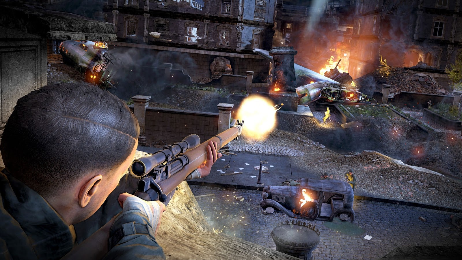 Sniper Elite V2 Doesn't Hold Up, Even In Pretty Remaster Form