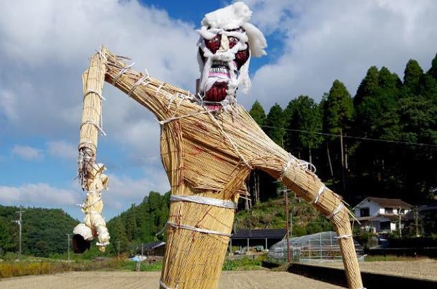 Game and Anime Characters Reborn as Japanese Scarecrows