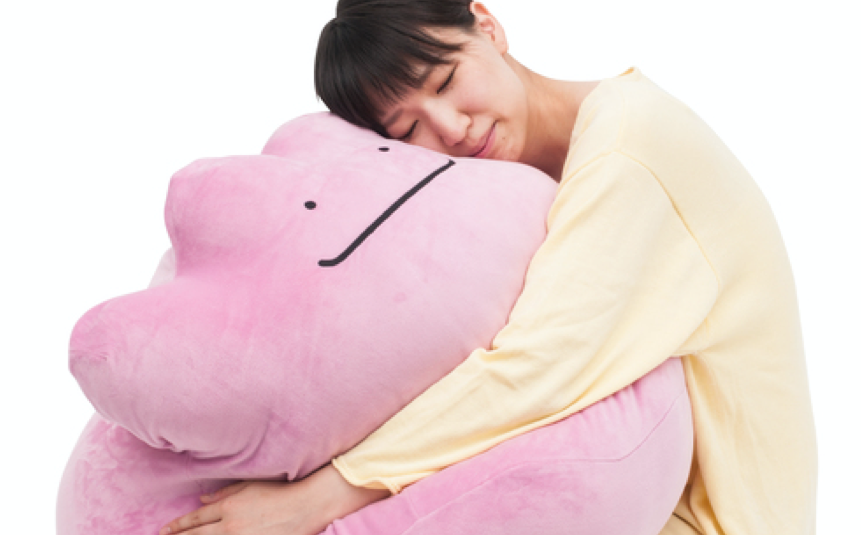 Giant Ditto Pokemon Cushion You Can Cuddle