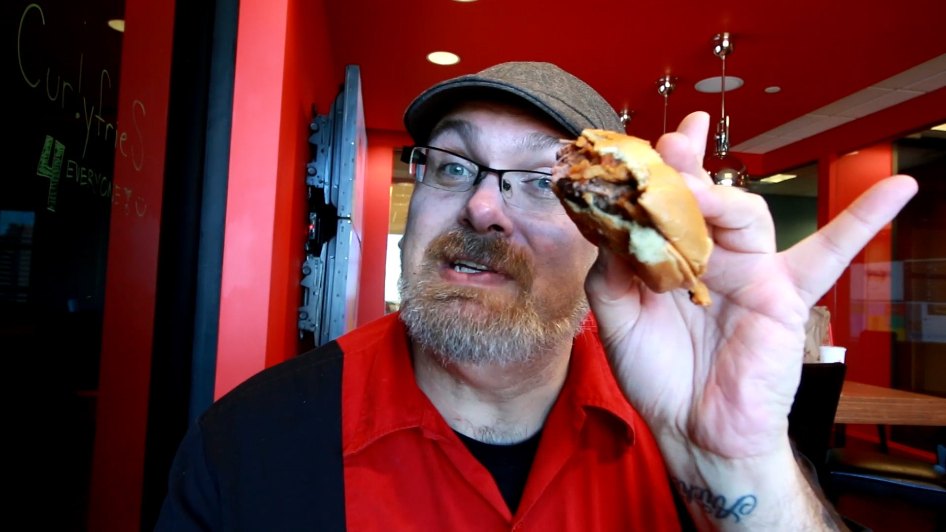 Snacktaku Eats A Venison Sandwich At Arby's HQ