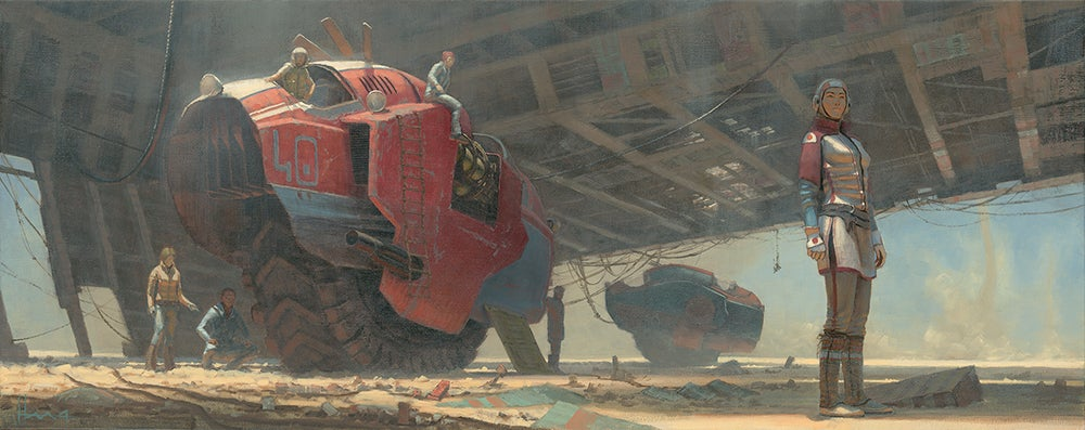Some Of The Most Jaw-Dropping Science Fiction Artwork Of 2015