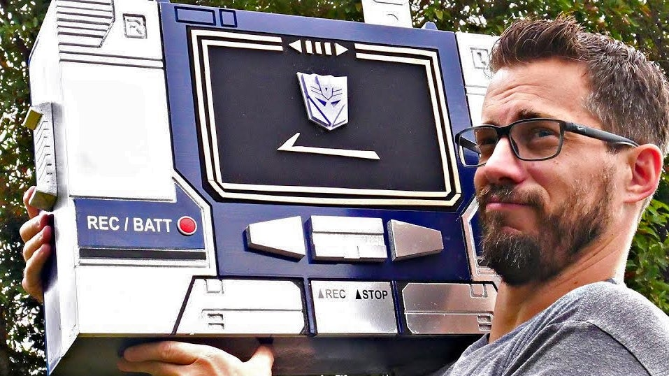 I Want This Custom Bluetooth Soundwave Boombox, Even If It Doesn't Transform