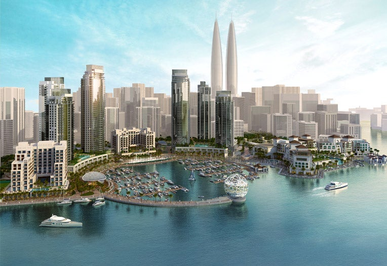 Dubai's Newest Twin Towers Will Look Like a Pair of Blunts