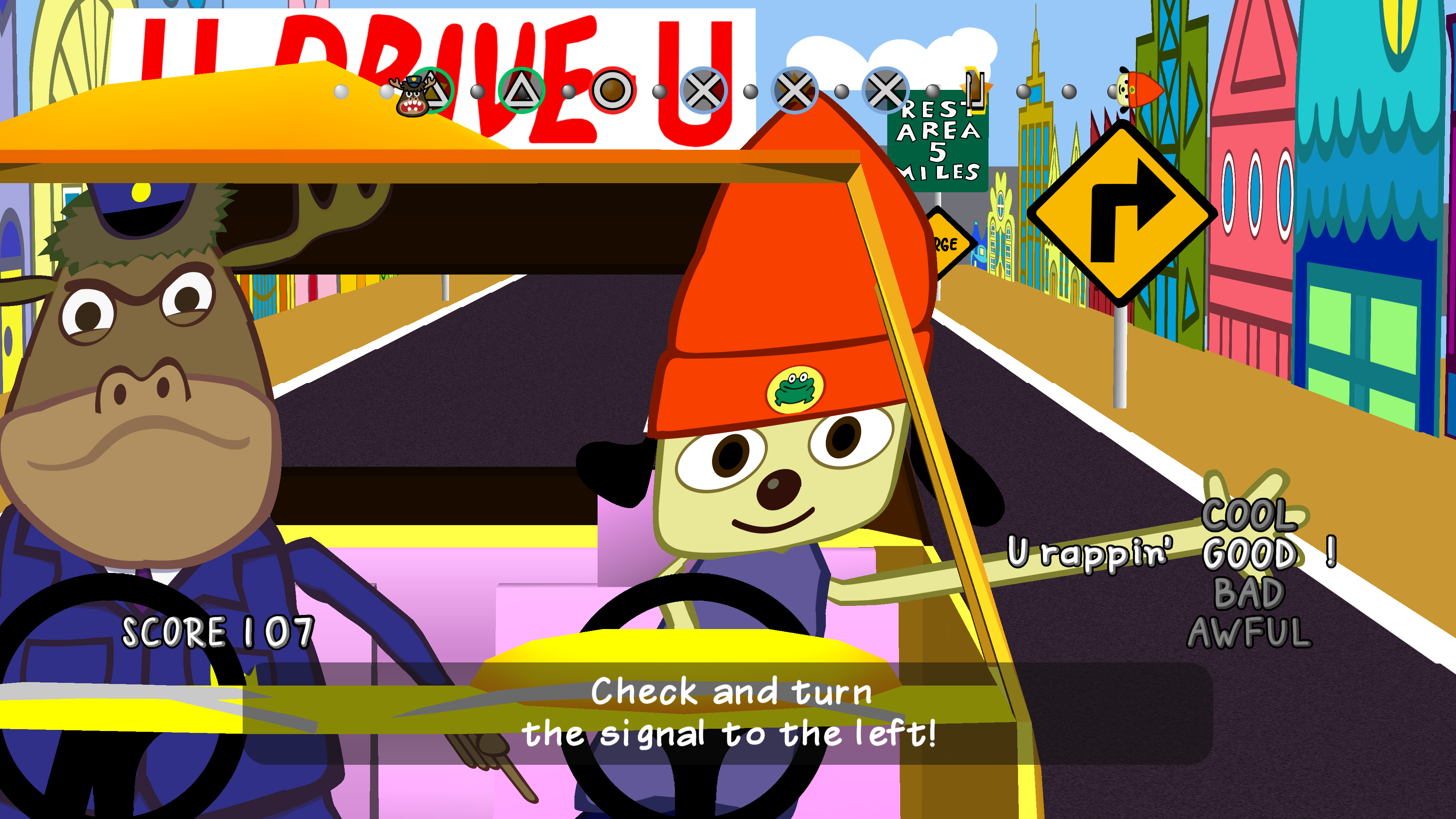 we're so happy parappa the rapper is back to frustrate us | kotaku