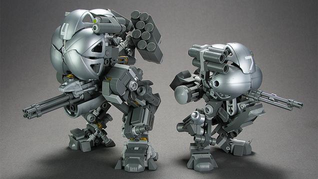 Very Cool, Tiny Custom LEGO Mechs From Builder Brian Kescenovitz