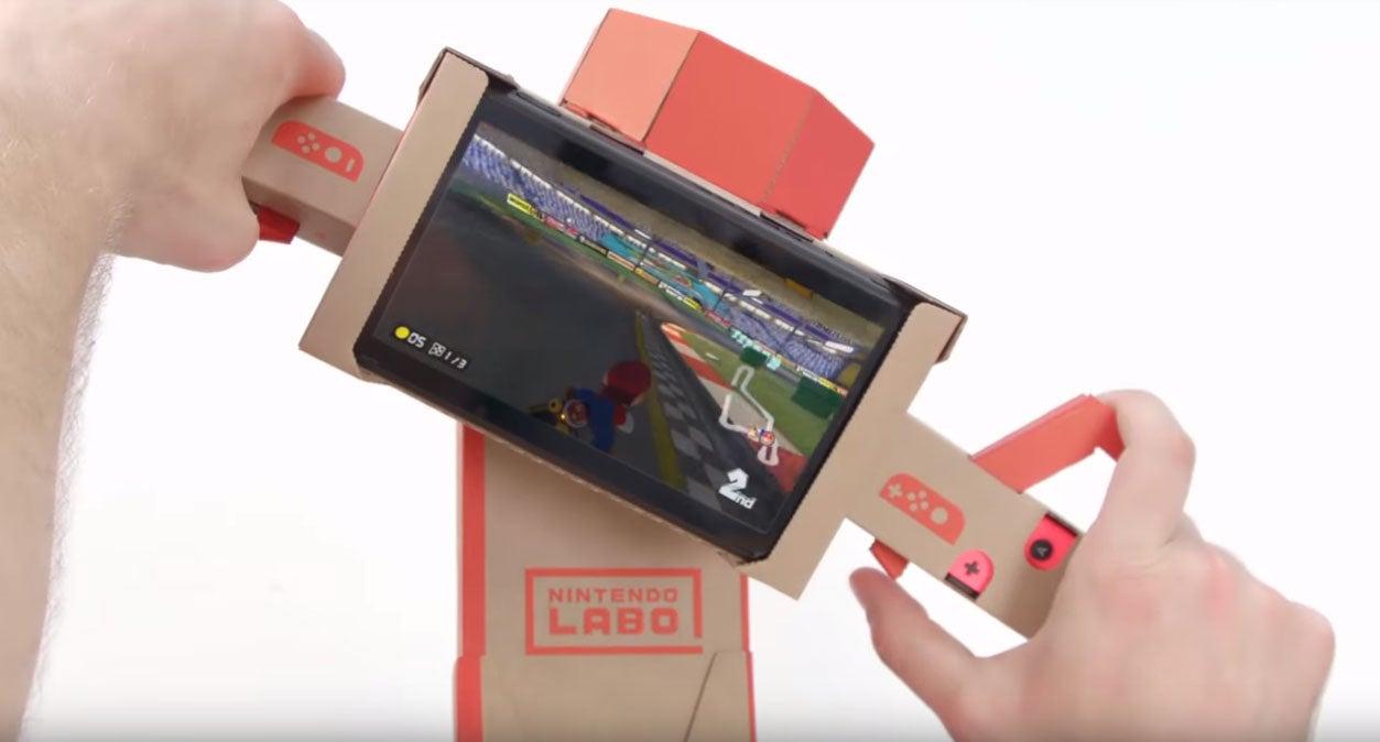 Mario Kart 8 DeluxeNow Supports Nintendo Labo