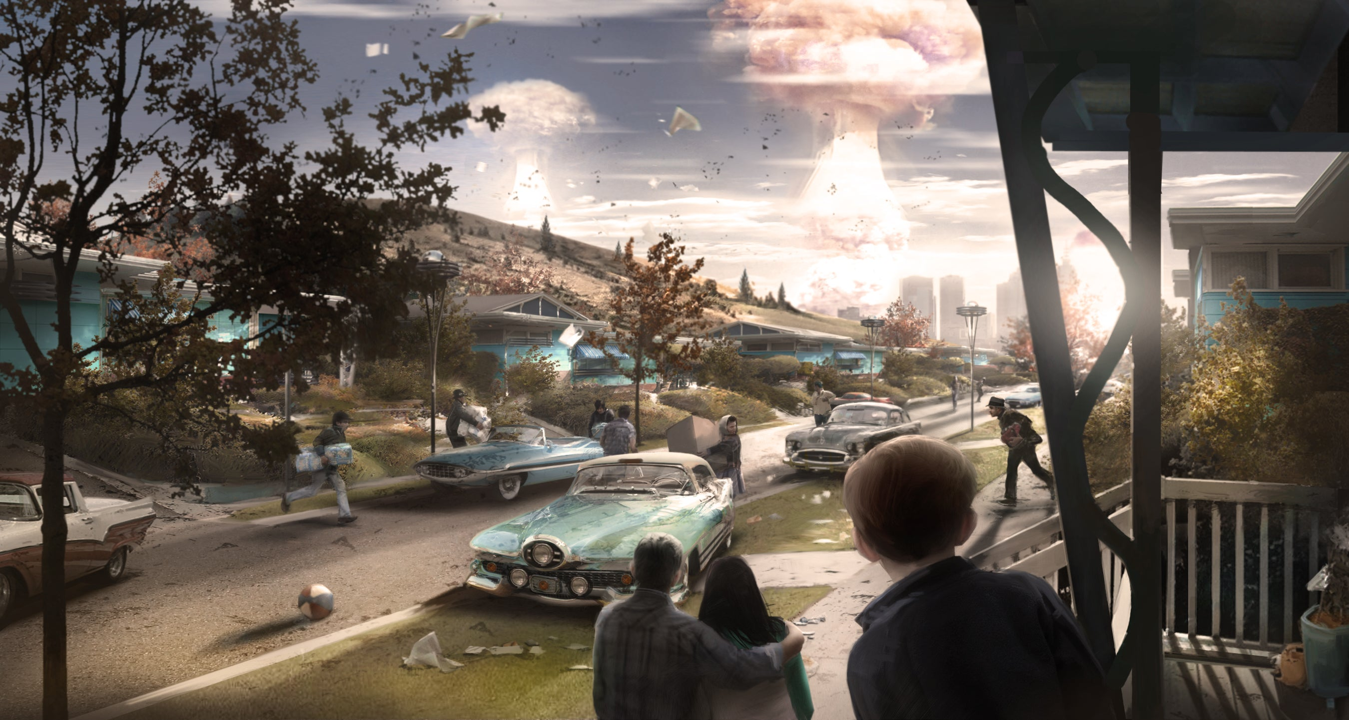 What Goes Into Making Fallout 4's Impressive Atomic Explosions