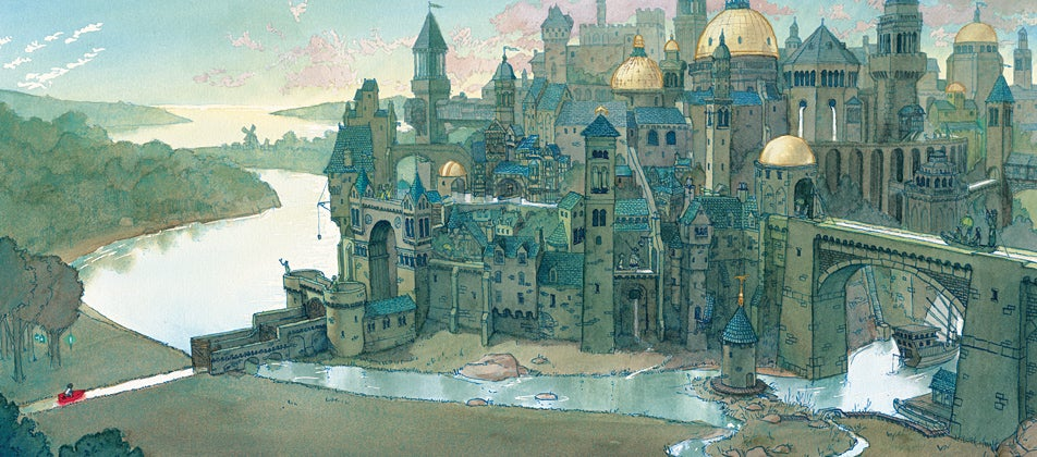 The beautiful animated 3D watercolors of Aaron Becker