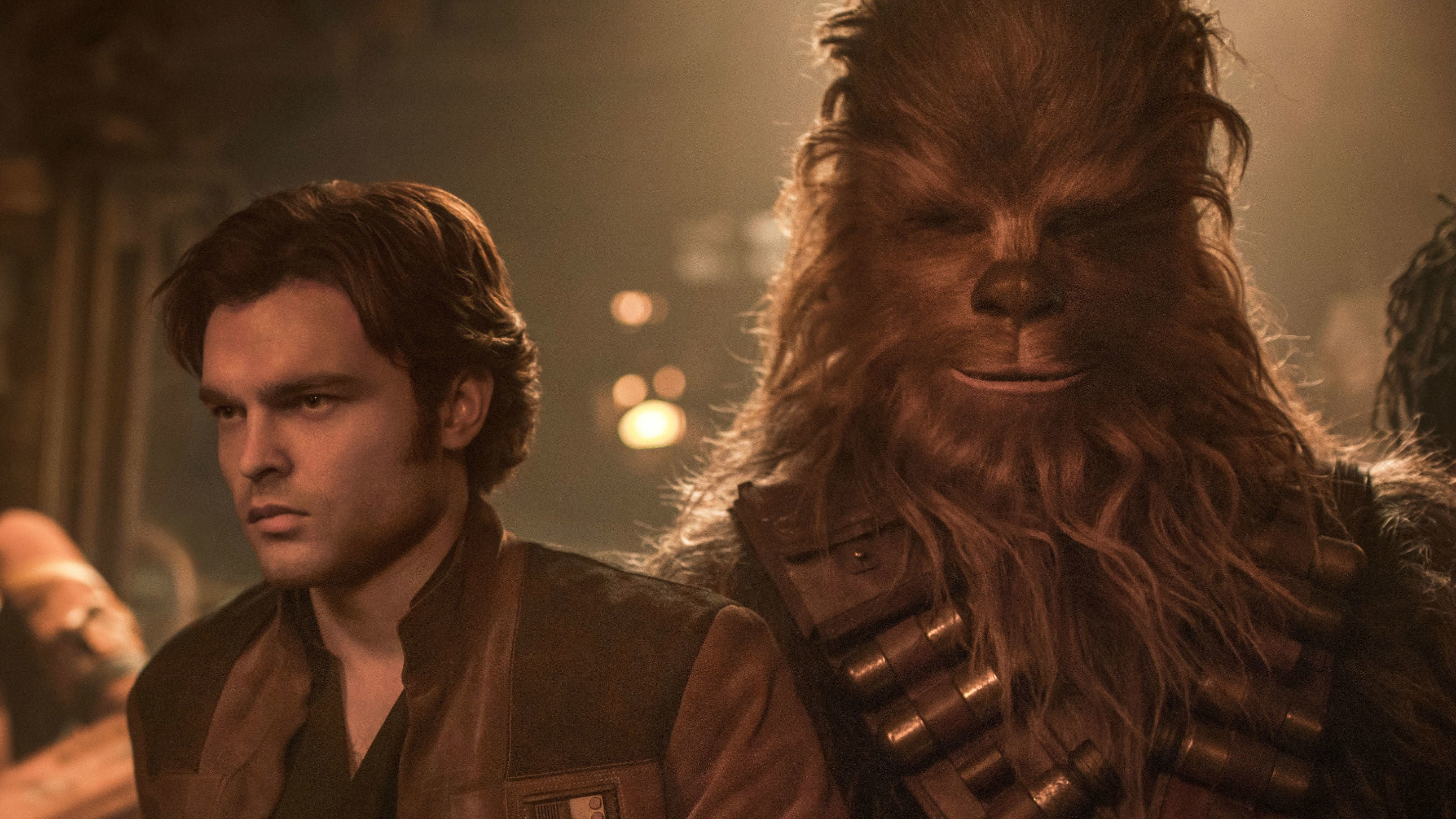 The Writers Of SoloDiscuss The Challenge Of Creating Han And Chewie's Iconic First Meeting
