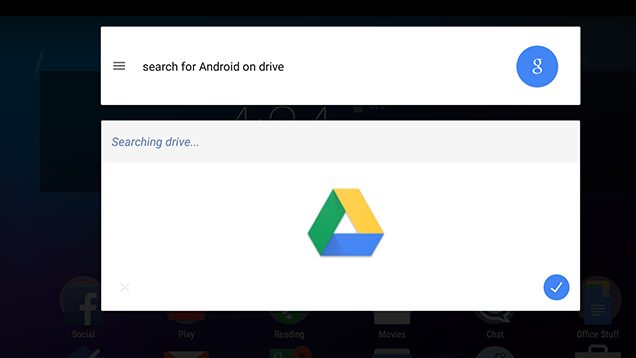 Search Files in Google Drive from the Search App in Android