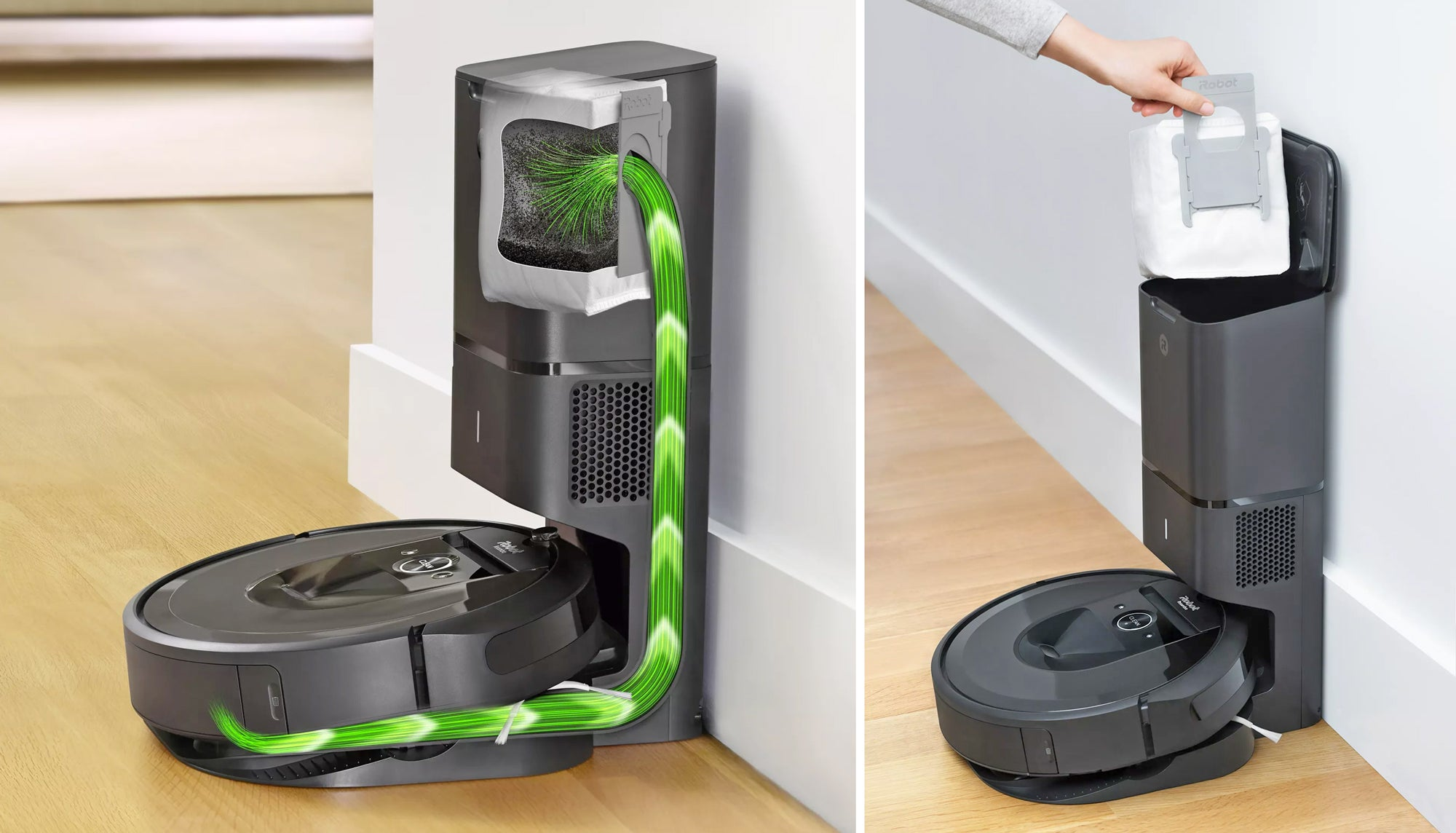 iRobot Finally Makes A Roomba That Empties Itself