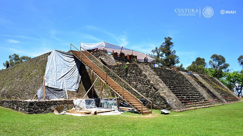 An Earthquake Damaged A Pyramid In Mexico And Exposed An Aztec Temple Hidden Below