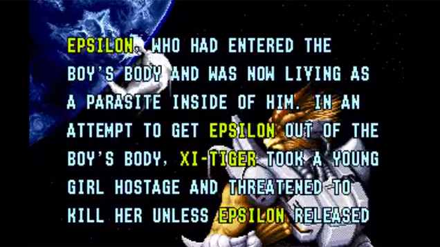 2015 According To 1995 Game Alien Soldier