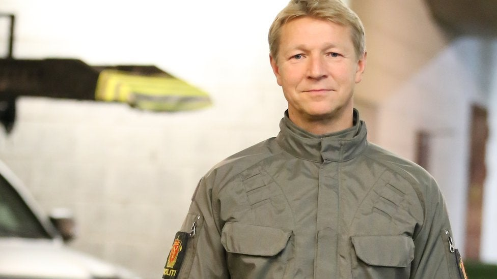 Norway's Experimental Police Uniform Is Silly And Sort Of Scary