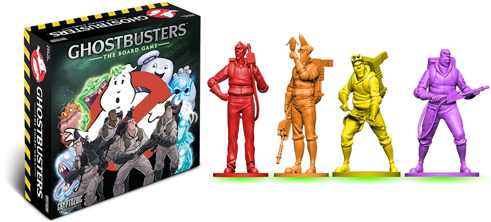 The Ghostbusters Are Back In a Board Game That May or May Not Be Haunted