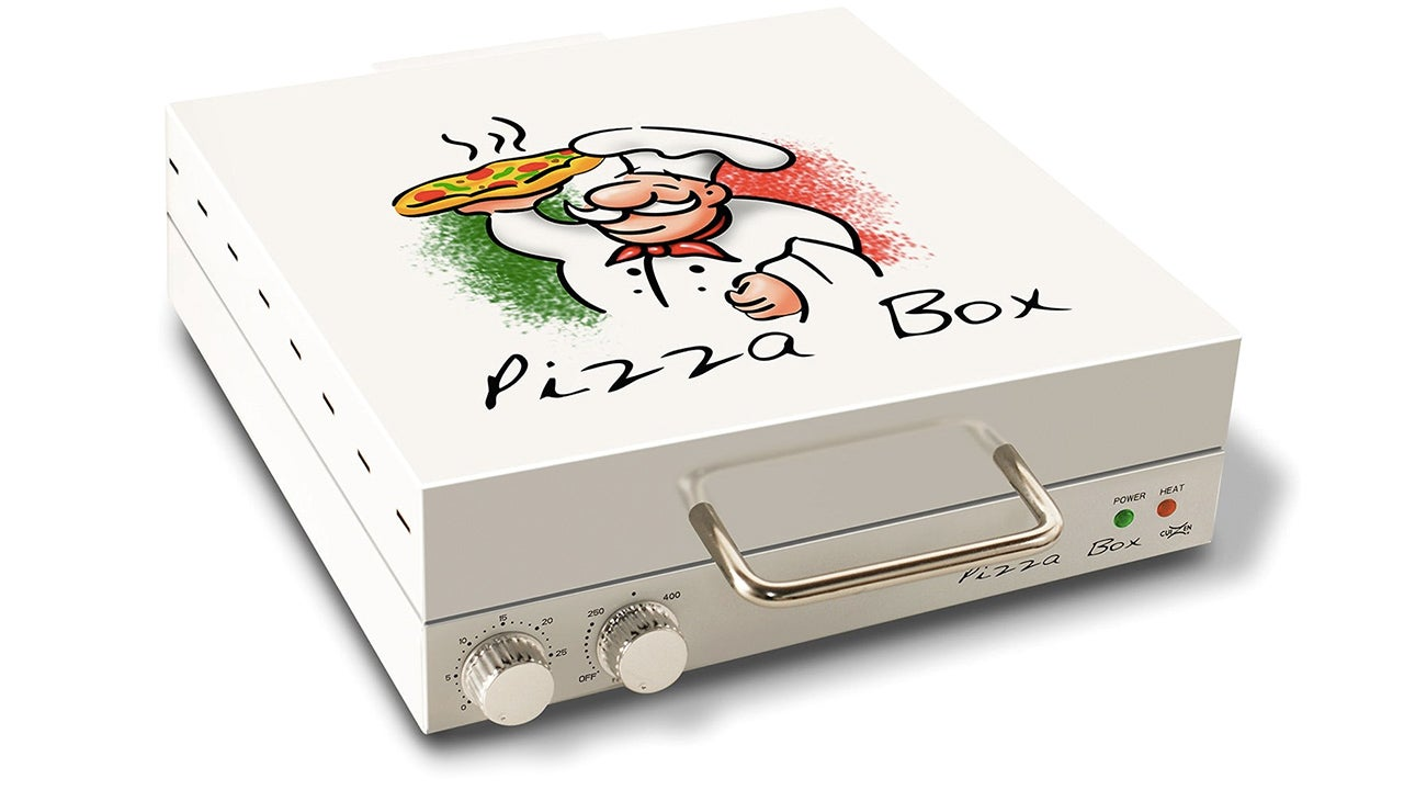 The Pizza From This Box-Shaped Oven Is Always Hot and Gooey