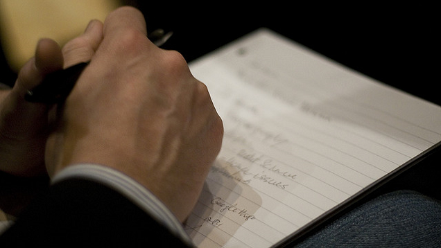 Taking Notes May Actually Make You Much More Forgetful