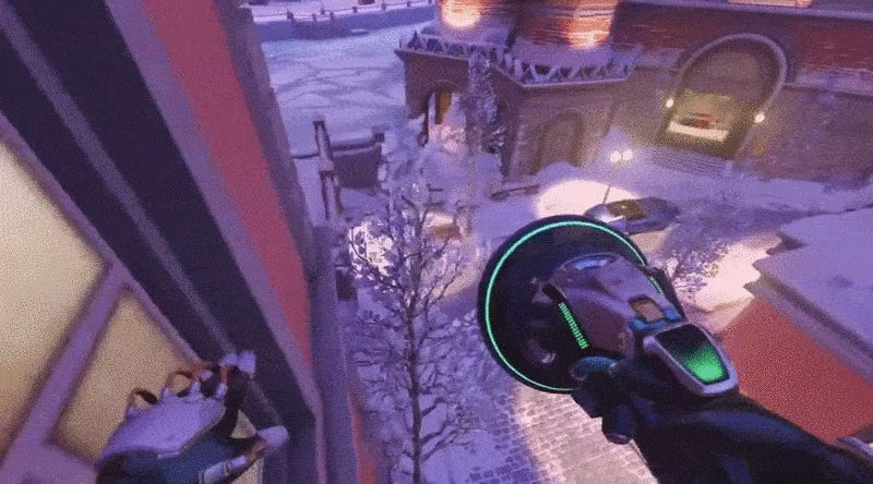 Overwatch Player Is A Wall Riding Fiend