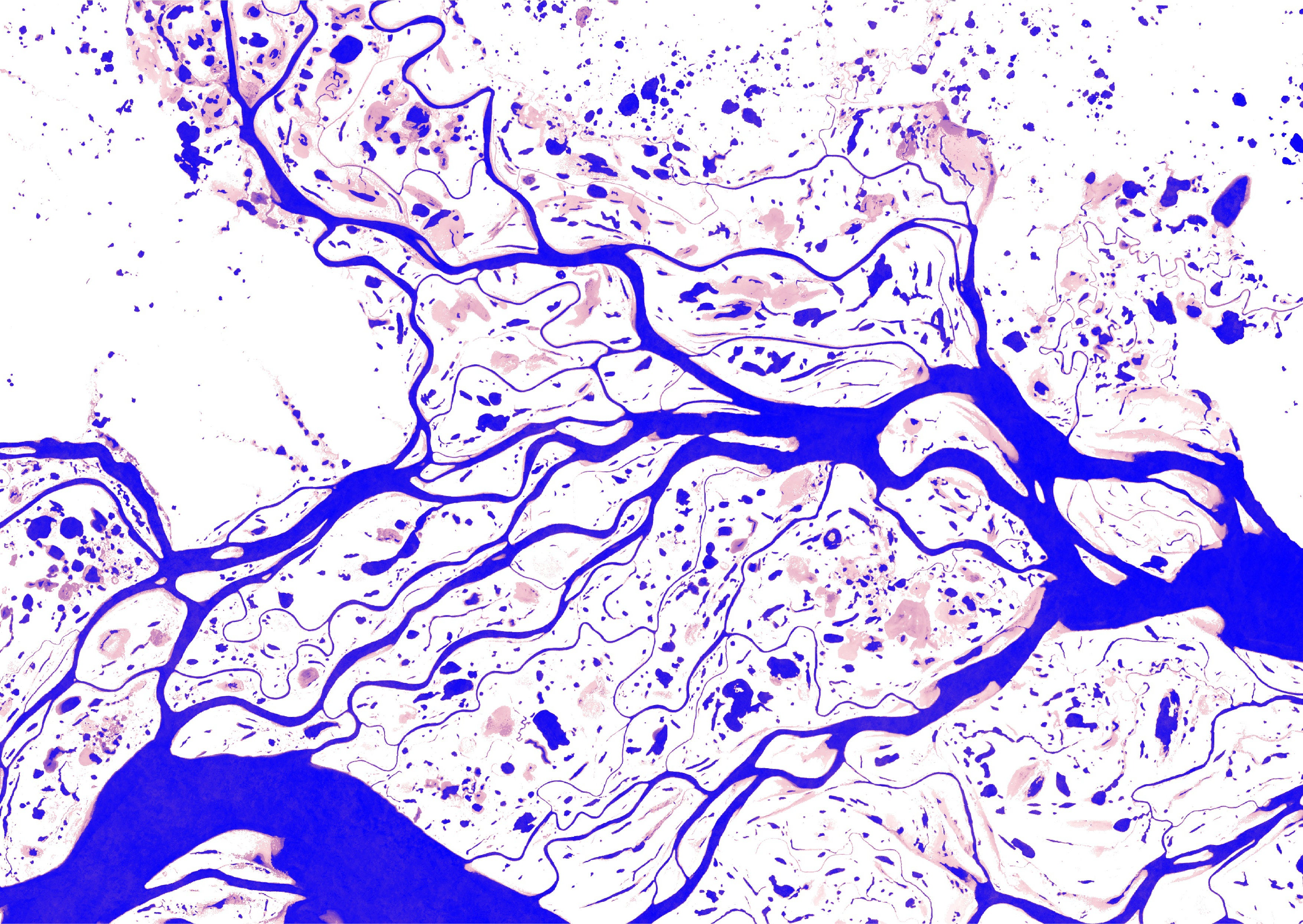Gorgeous New Maps Show How Dramatically Our Planet's Surface Water on don river map, mackenzie river, dnieper river map, vilyuy river map, yukon river, amur river map, parana river map, middle mississippi river map, zaire river map, dnieper river, rhone river map, ural river map, euphrates river map, yangtze river, amu darya, indus river, saint lawrence river map, brahmaputra river, lake baikal, mississippi river, lower tunguska river map, world's longest river on map, ob river, amu darya river map, angara river map, volga river, indus river map, yellow river, niger river map, kara sea, ganges river map, lena river, chang river map,