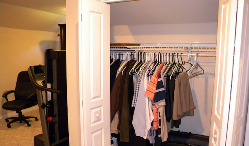 If Your Closet Is On The Small Side, Now, While Itu0027s Empty, Is The Best  Time To Make It A Little More Efficient. Here Are A Few Tips That Can Help.