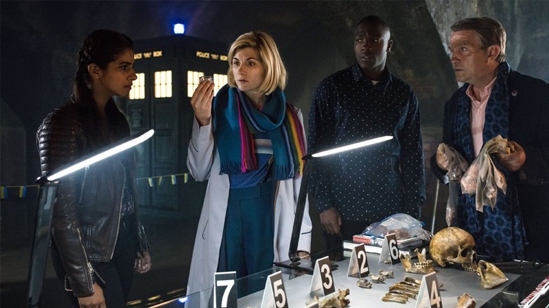 Our First Look At Doctor Who's New Year's Day Special Includes A Truly Fabulous Scarf