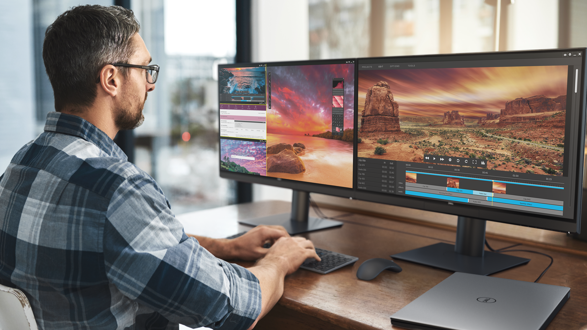 Dell's Latest Pro-Grade Monitor Has A Built-in Colorimeter And Thunderbolt 3