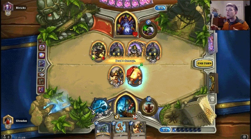 Guy Tries To Play Hearthstone Using Only Voice Commands