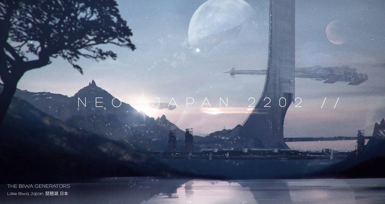 Japan In 2202 Looks Exactly Like You'd Expect