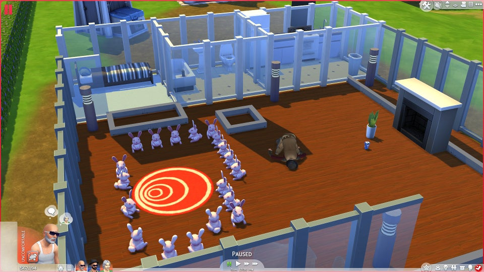 How evil can you be in the sims 4 we did some experiments for Pool designs sims 4