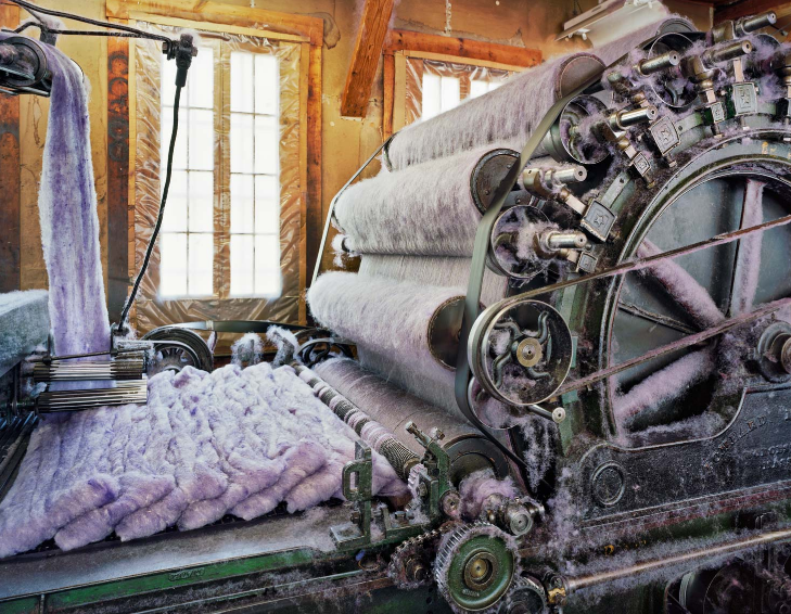 Inside the Colourful Chaos of America's Ageing Textile Mills