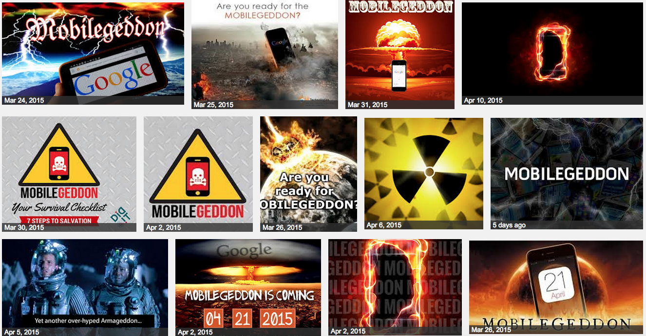 Are You Ready For Google's Mobilegeddon Phonepocalypse Tomorrow?