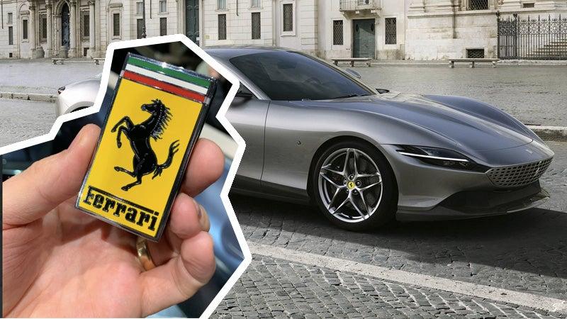 Ferrari's Giant Key Fob Is What Ferrari Buyers Actually Want