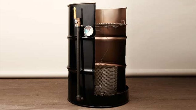 Build a Smoker From a 55 Gallon Drum
