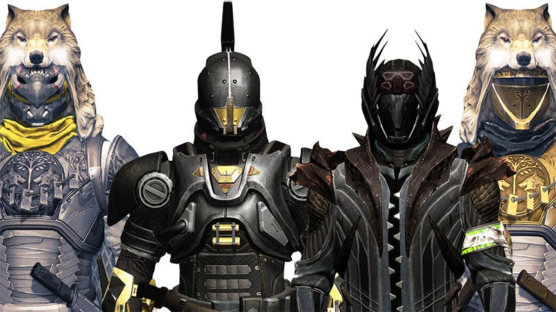 Destiny Armour Shaders Are A Great Excuse For Variant Action Figures