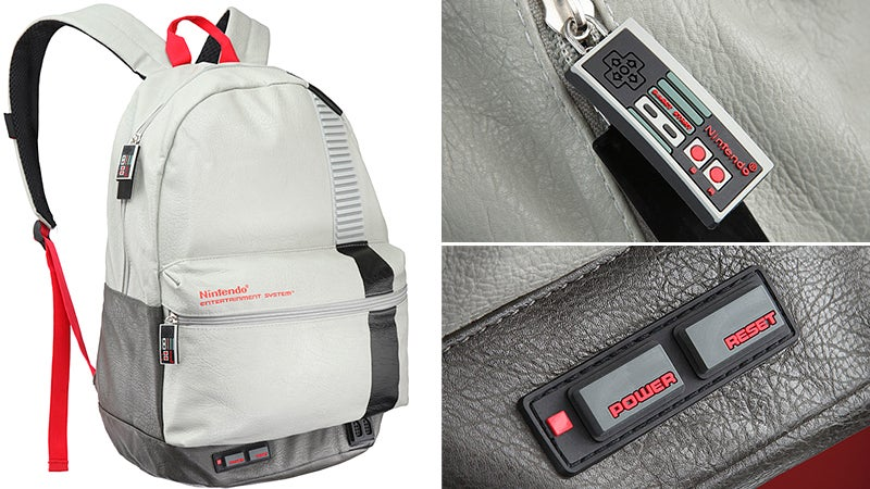 If it Actually Played Classic 8-Bit Games, This NES Would Be the Perfect Backpack