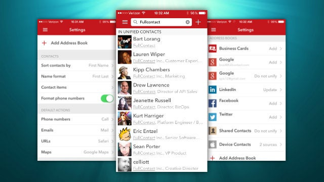 Cobook Rebrands As FullContact, Cleans Up Your Messy IOS Contacts